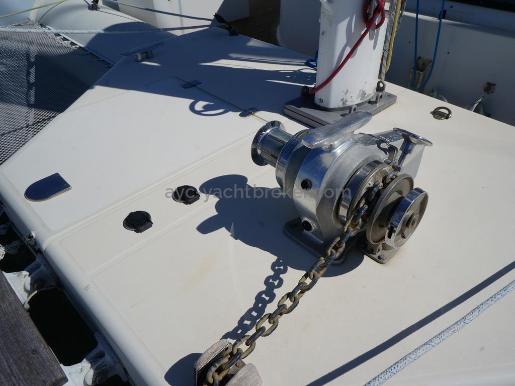 Catamaran 51' - Guindeau électrique