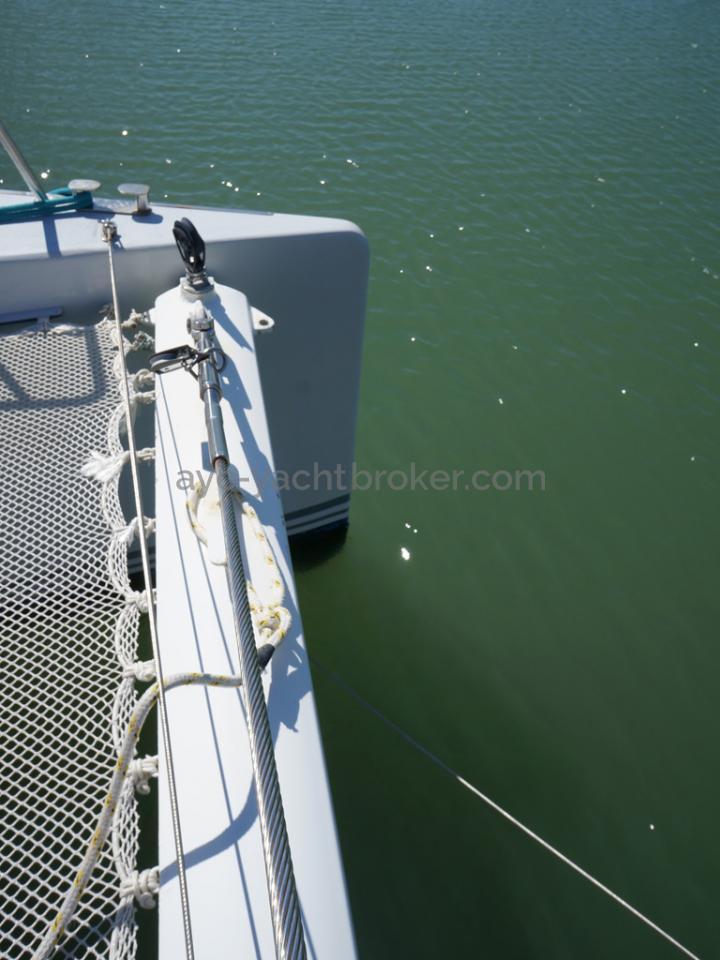 Catamaran 51' - Poutre avant