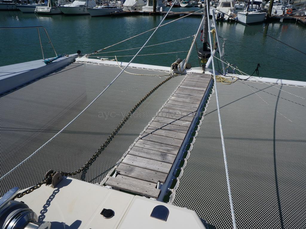 Catamaran 51' - Plateforme avant