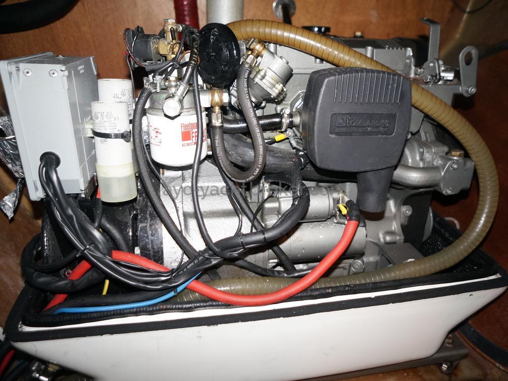 Catamaran 51' - Groupe électrogéne (sans cocon)