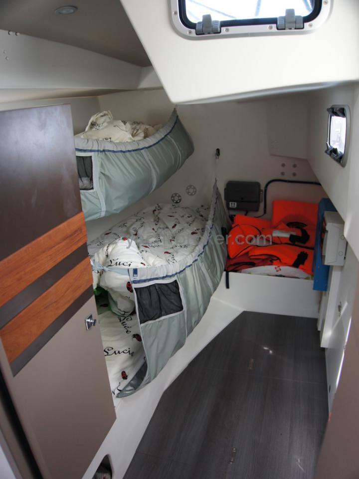 RM 1260 Biquilles / Twinkeels - Cabine arrière