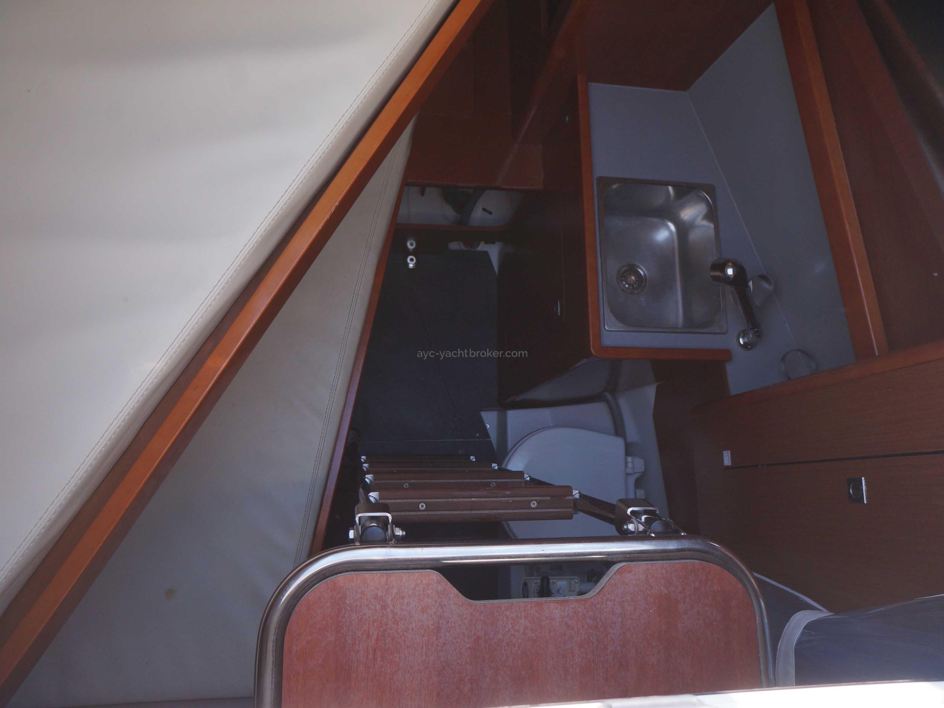 OCEANIS 55 - AYC International Yachtbrokers - Cabine skipper
