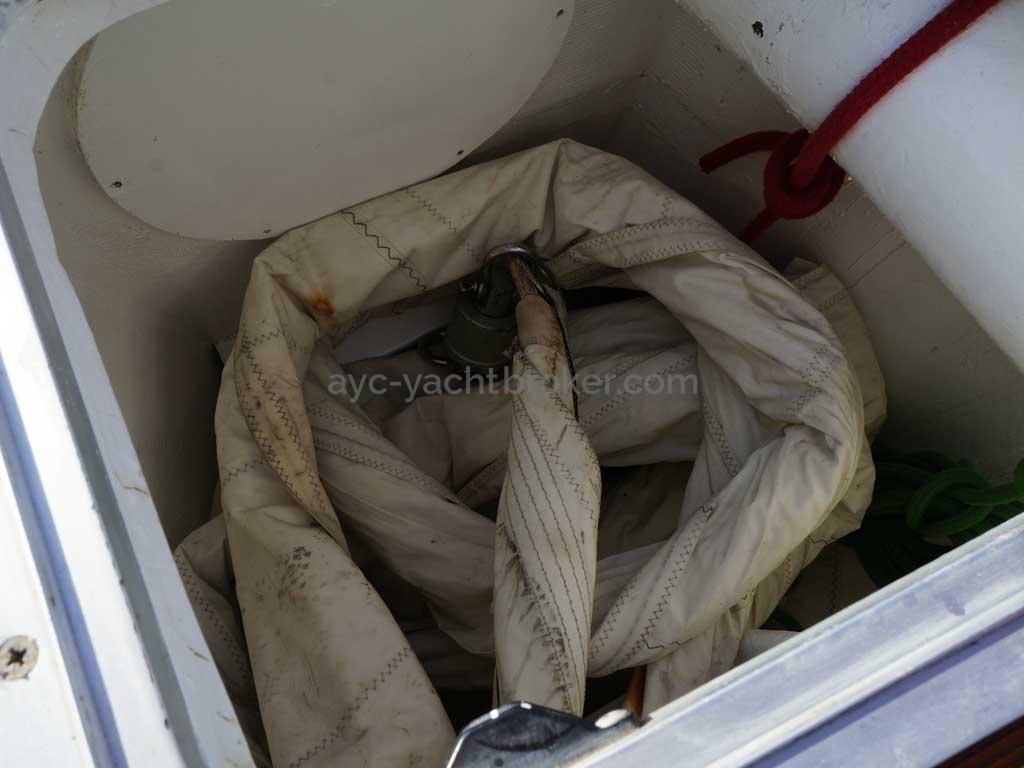 ORION 46 - Soute à voiles & cloison étanche