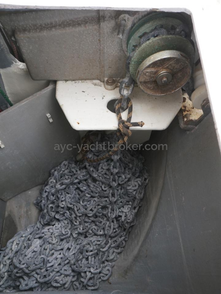 Catana 582 Caligo - Baille à mouillage