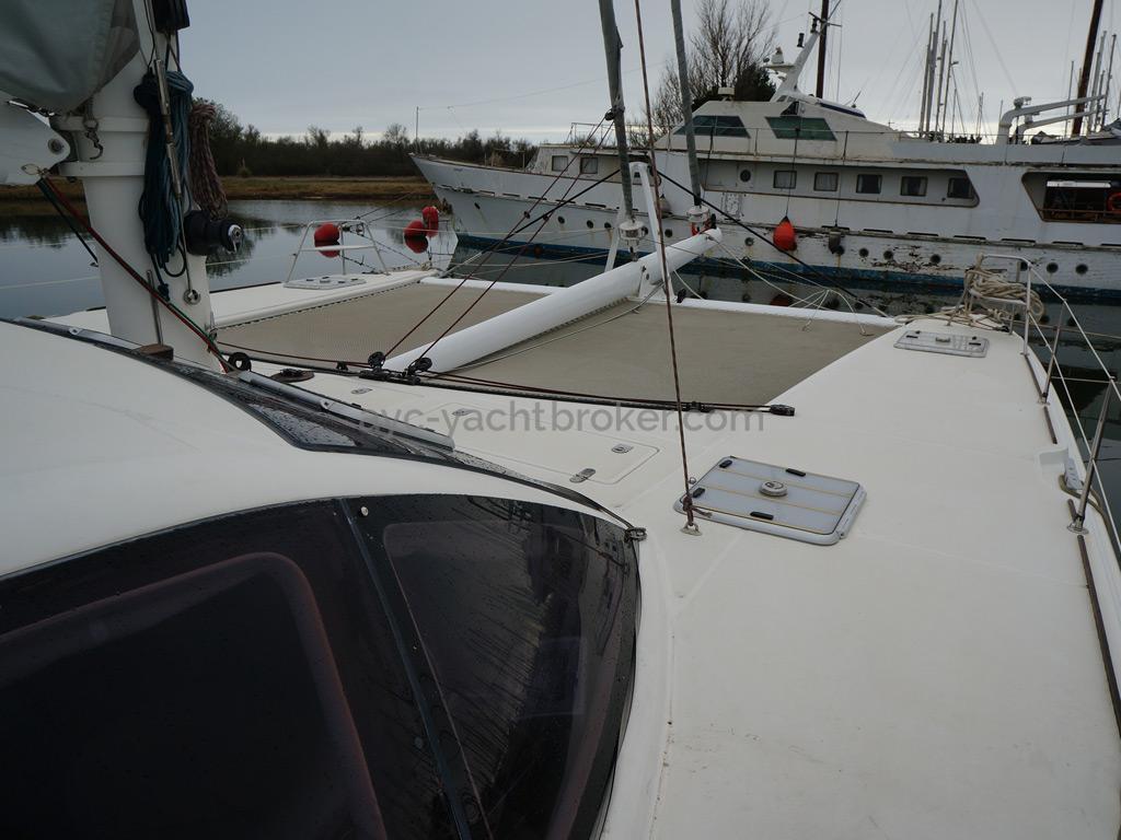 Catana 582 Caligo - Depuis le passavant tribord