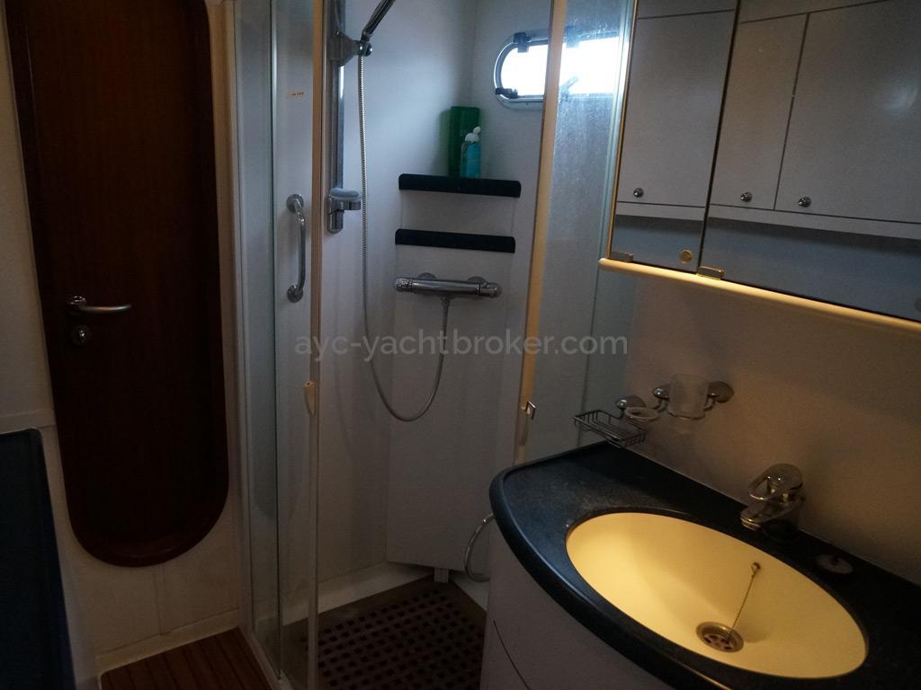 Catana 582 Caligo - Salle d'eau