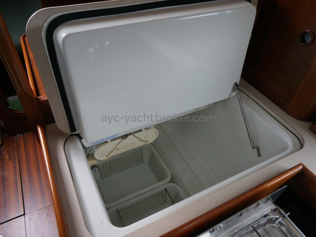 Oceanis 351 - Réfrigérateur