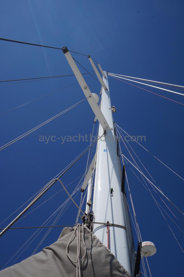 AYC - Jeanneau 57 - Gréement