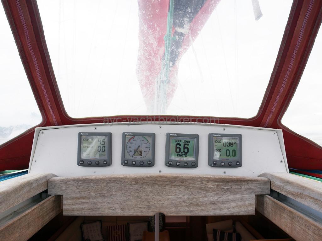 OVNI 395 - Console de descente (panneau vertical Komacell)