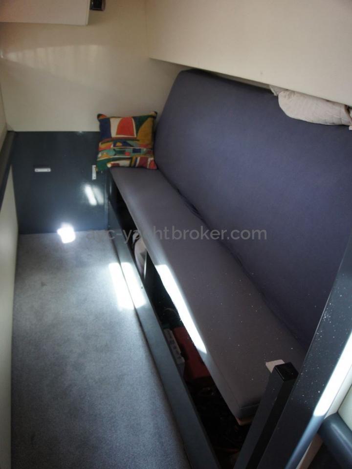 JXX 38' - Cabine arrière tribord
