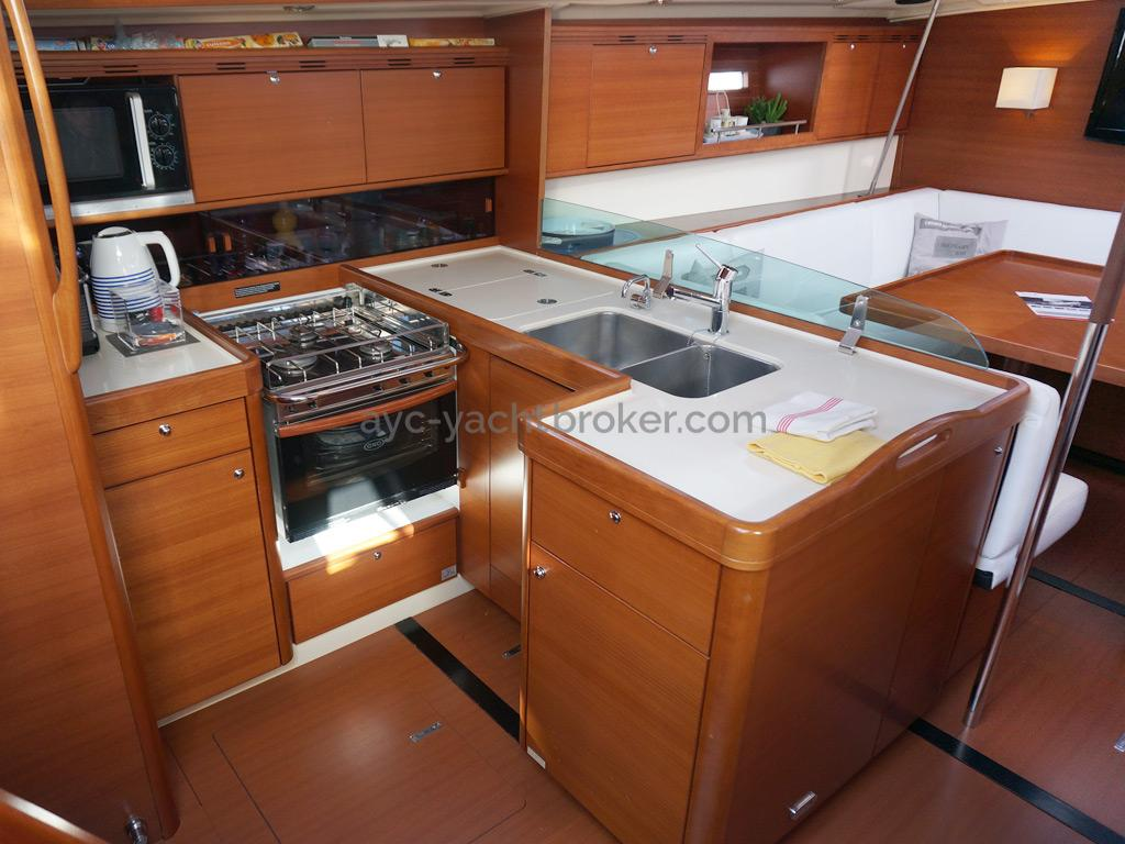 Dufour 485 Grand Large - Cuisine