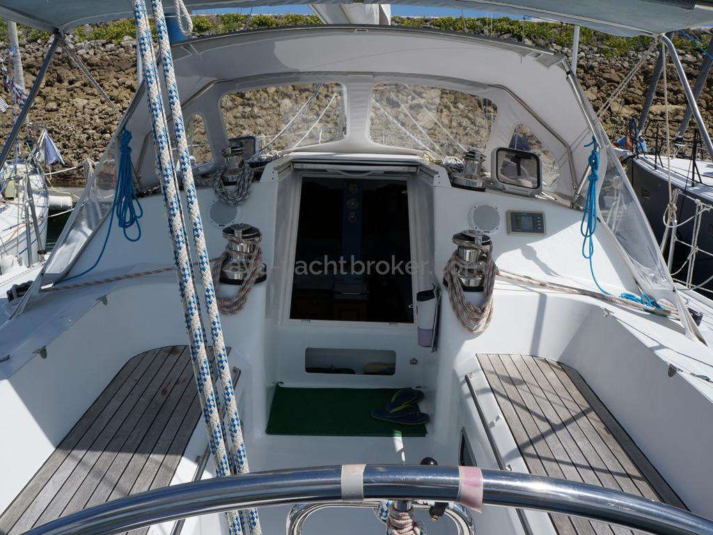 AYC - Randonneur 1200 - Cockpit et descente