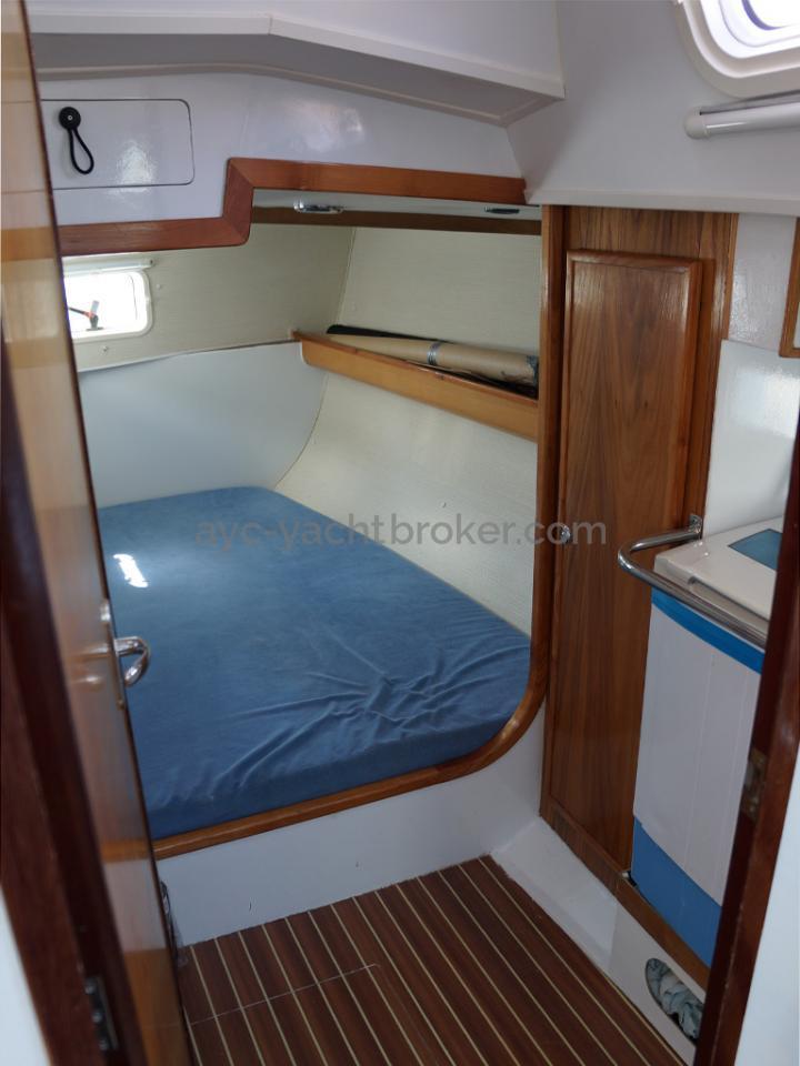 AYC - Randonneur 1200 - Cabine arrière bâbord