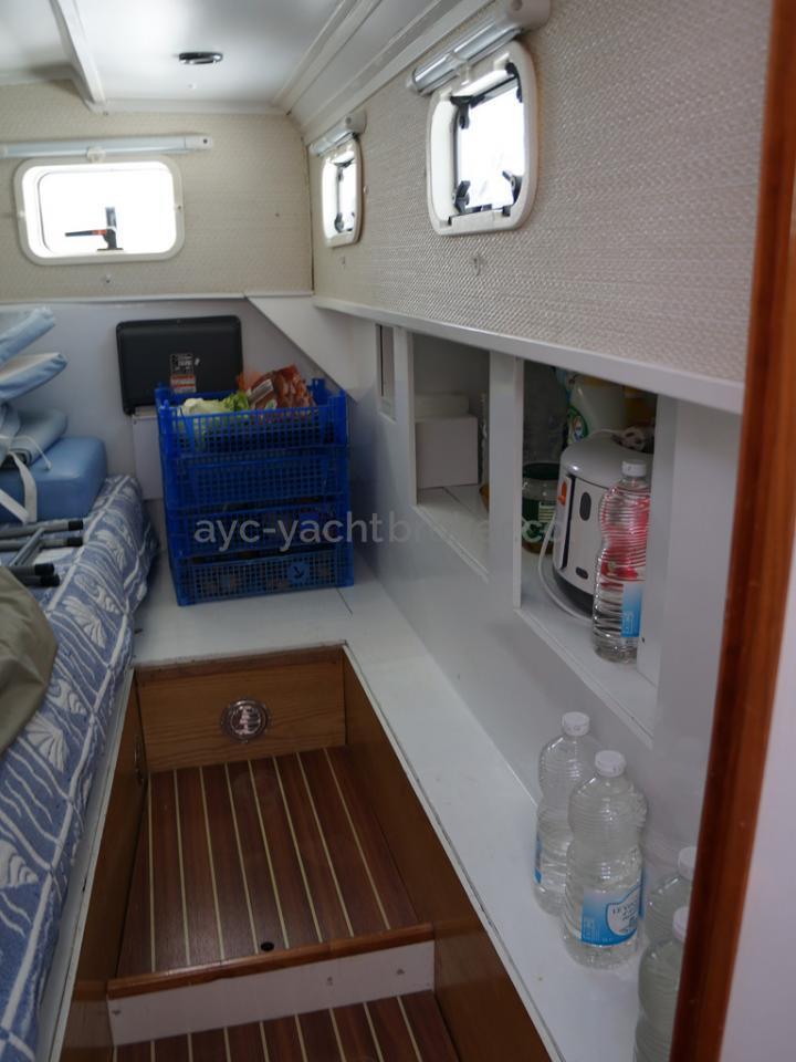 AYC - Randonneur 1200 - Cabine arrière tribord