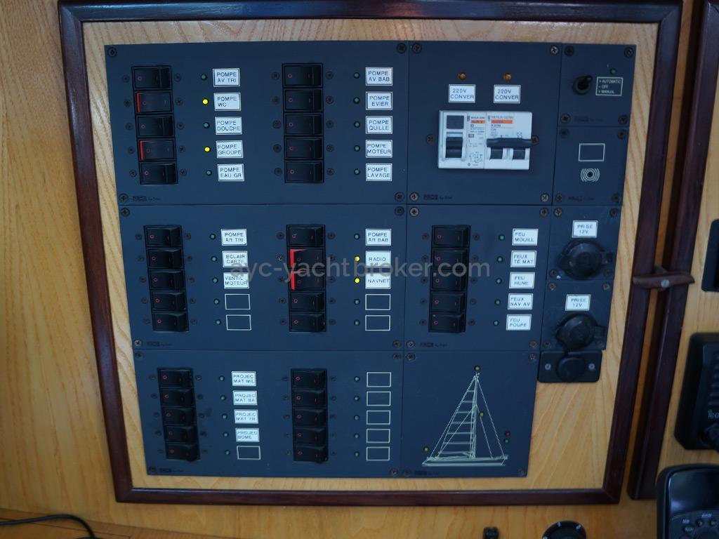 AYC - Randonneur 1200 - Tableau électrique