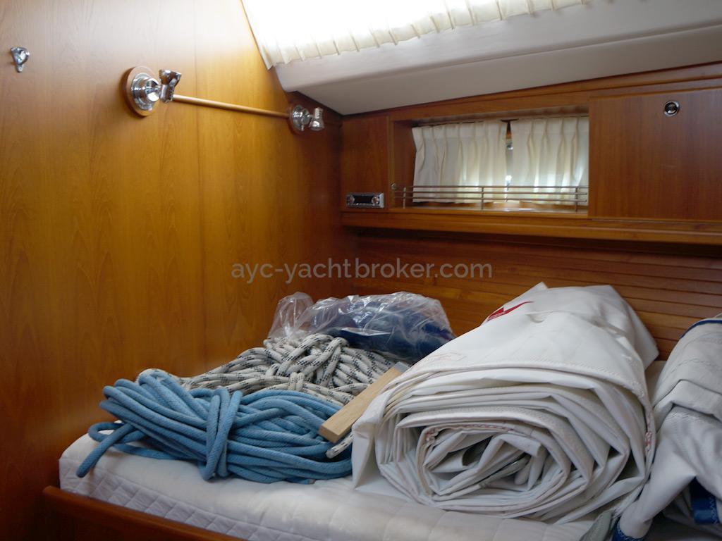 AYC Yachtbroker - Trintella 44 Aluminium - Cabine double avant