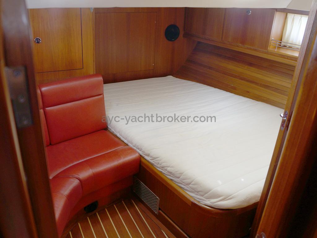 AYC Yachtbroker - Trintella 44 Aluminium - Cabine arrière propriétaire
