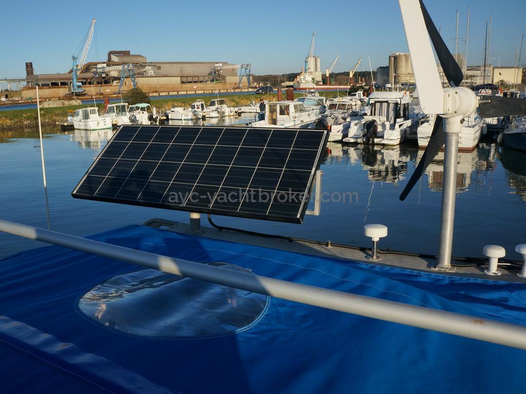 Patago 40 - Production électrique sur le portique