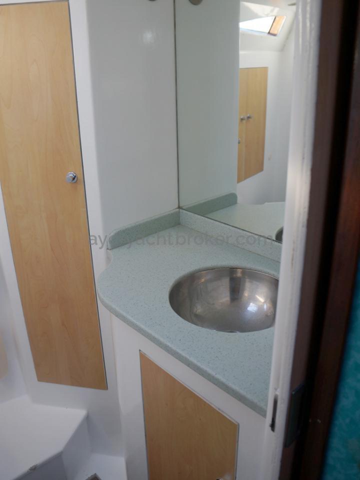 Patago 40 - Lavabo de la salle d'eau
