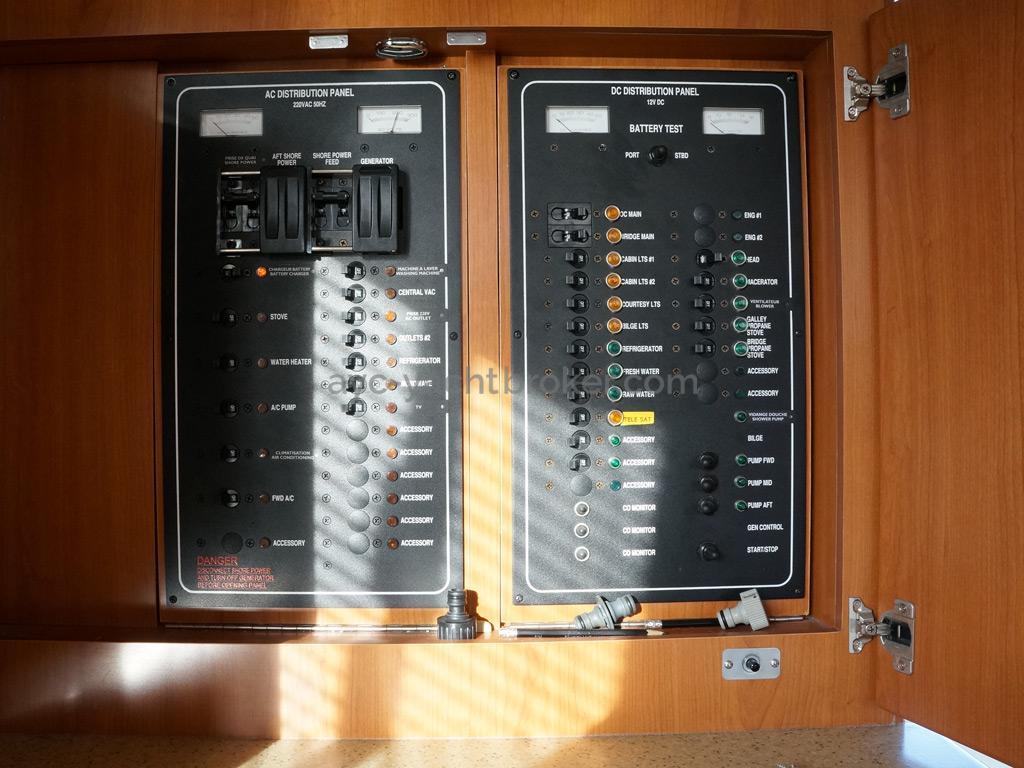 Mainship 40 Trawler Expedition - Tableau électrique principal