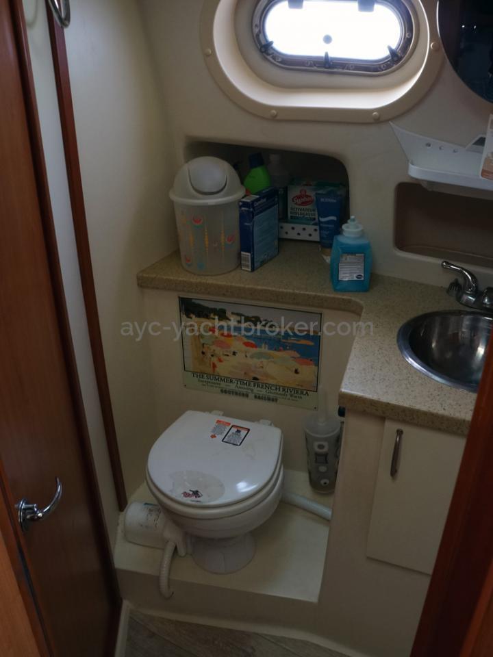 Mainship 40 Trawler Expedition - Salle d'eau