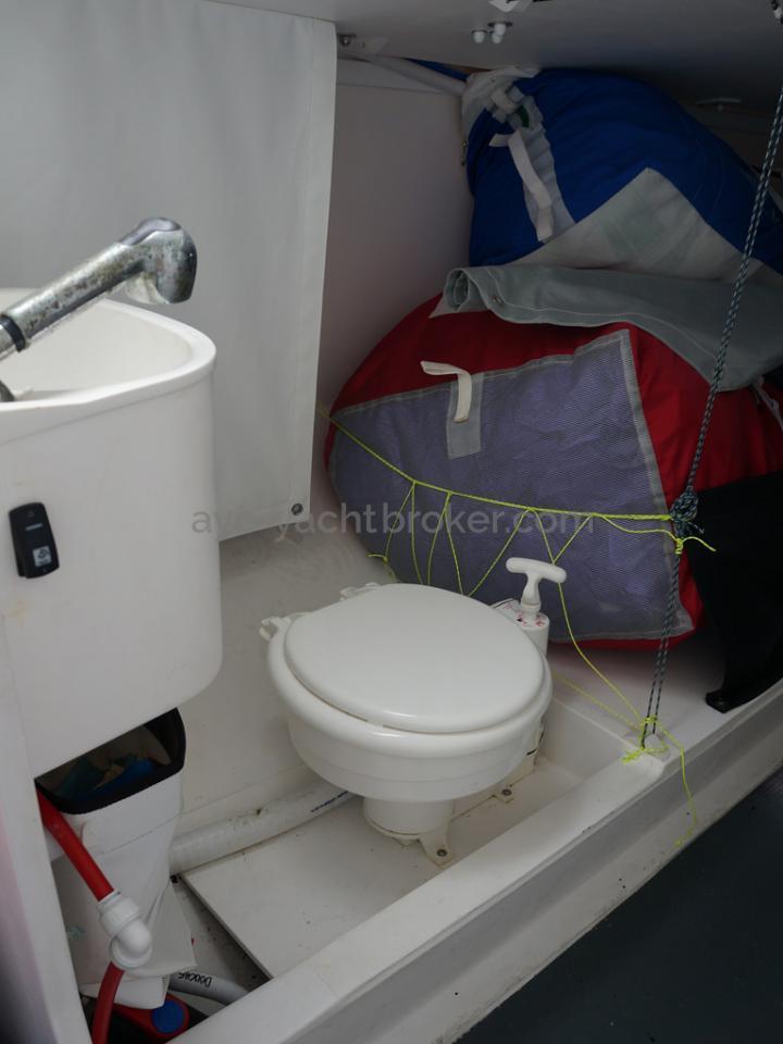 POGO 30 - WC marin et lavabo