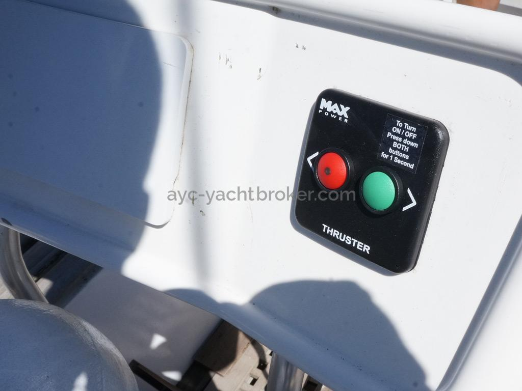Alumarine 55 - Commande de propulseur MaxPower
