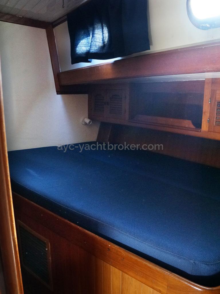 Horizon 70 - Cabine latérale bâbord