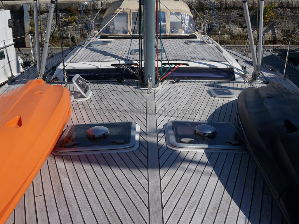 Dufour 485 Grand Large Custom - Pont et rouf