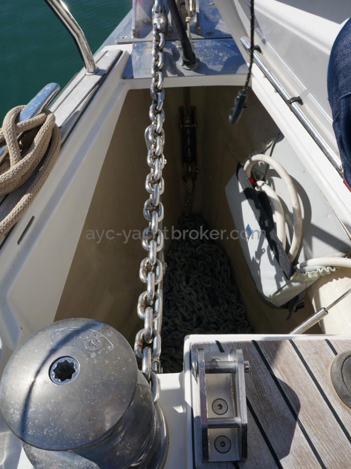 Dufour 485 Grand Large Custom - Baille à mouillage