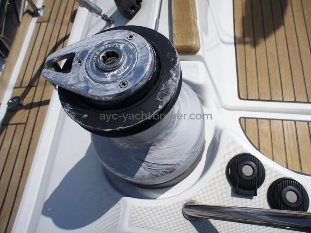 Sun Odyssey 54 DS - Winch de cockpit électrique
