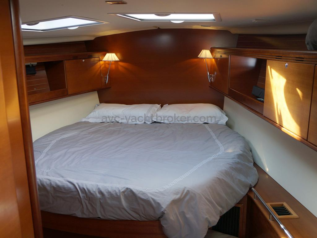 Dufour 485 Grand Large Custom - Cabine avant