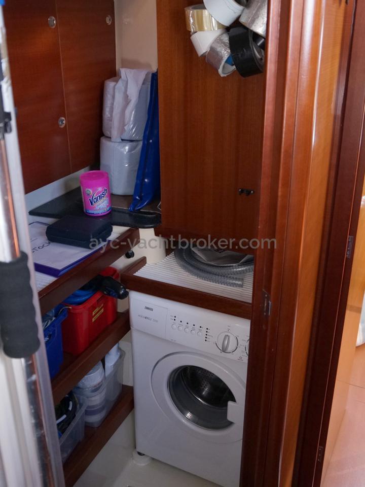 Dufour 485 Grand Large Custom - Atelier/buanderie de la cabine arrière bâbord