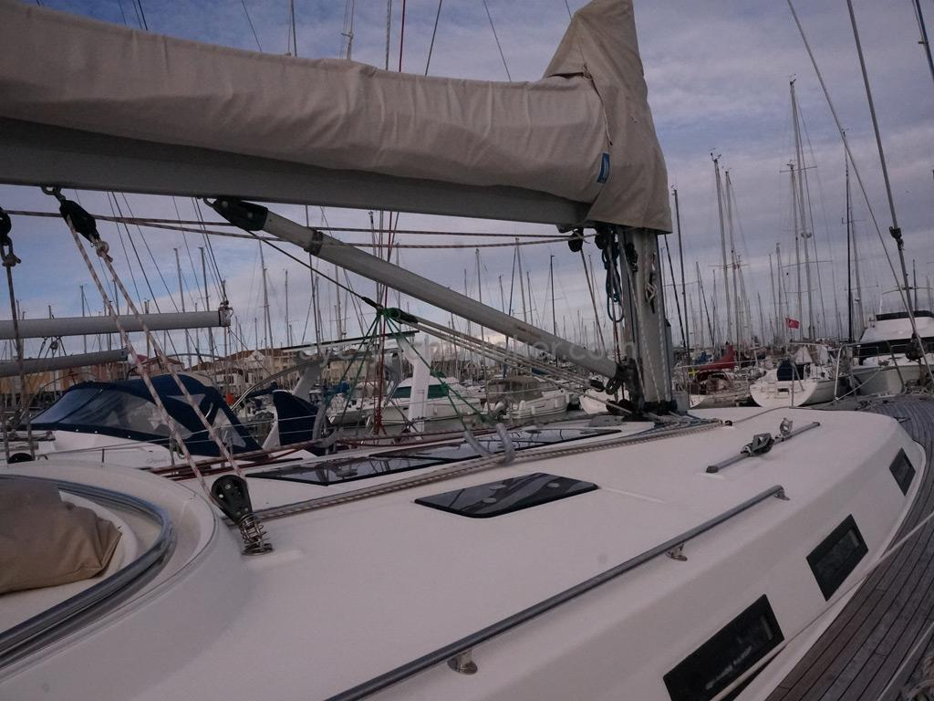 Bavaria 45 Cruiser - Pied de mât