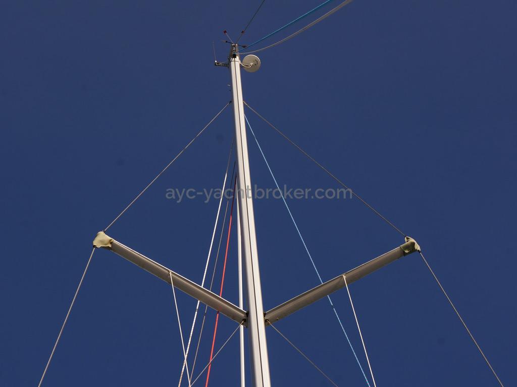 Bavaria 45 Cruiser - Tête de mât