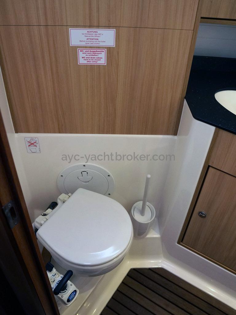 Bavaria 45 Cruiser - Salle d'eau de cabine arrière