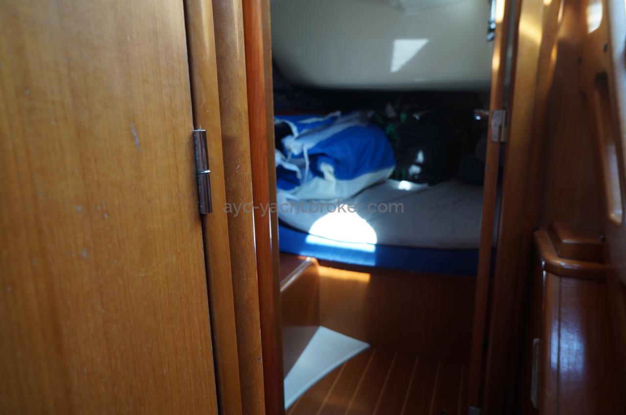 DUFOUR 40 cabine arrière tribord