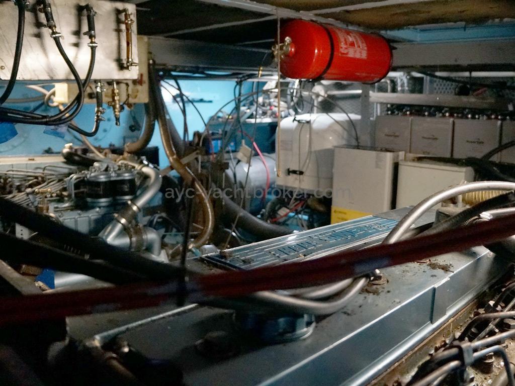 CCYD 75' - Salle des machines