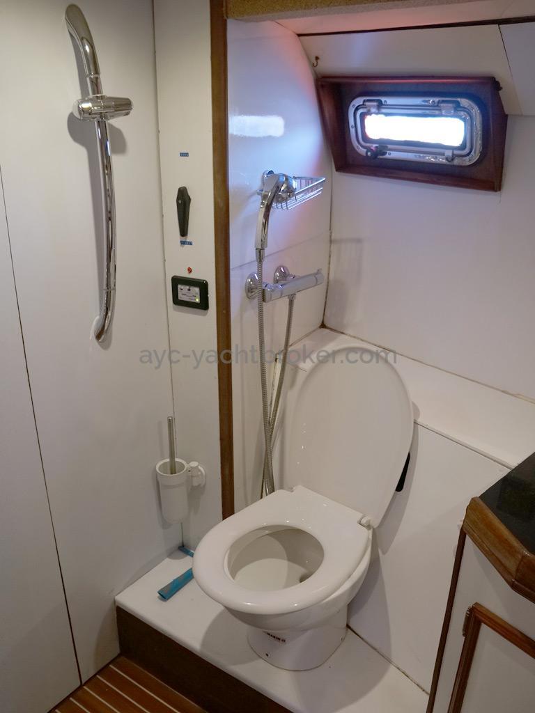 CCYD 75' - Toilettes de la cabine arrière