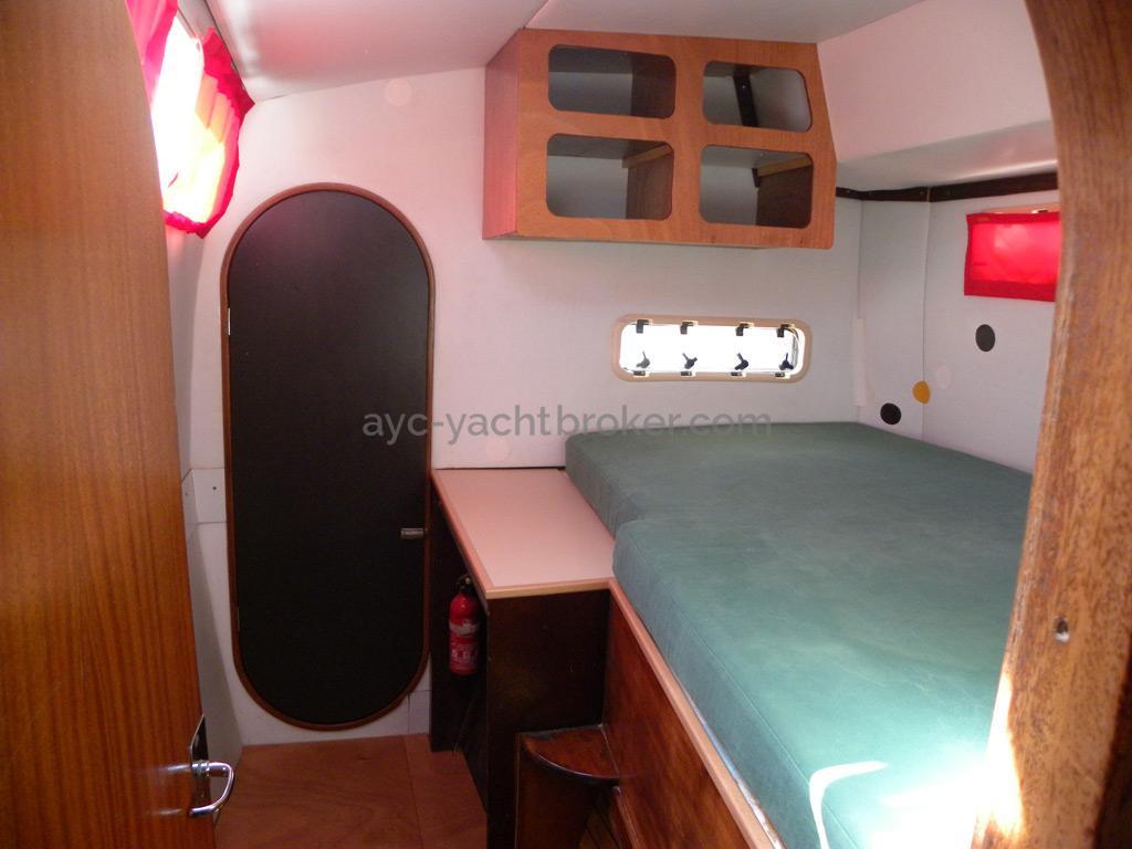 Catana 42 - Cabine centrale bâbord