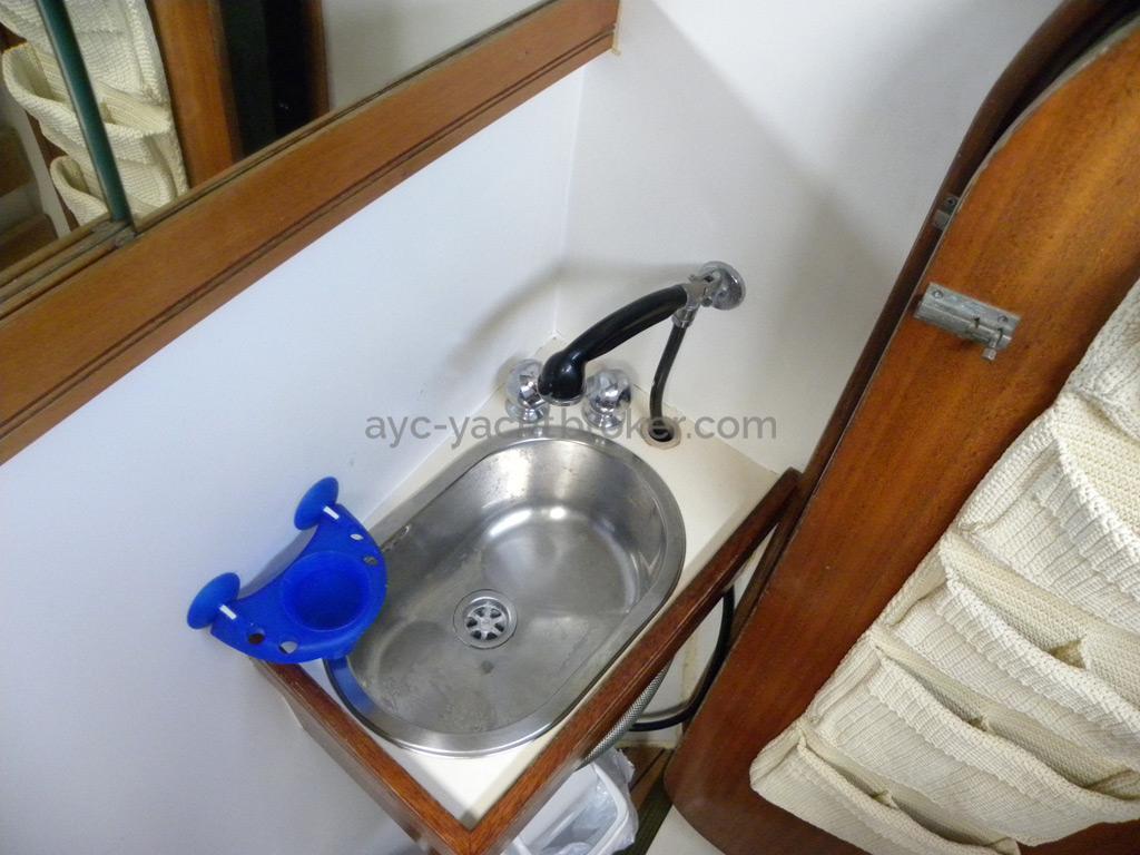 Catana 42 - Salle d'eau