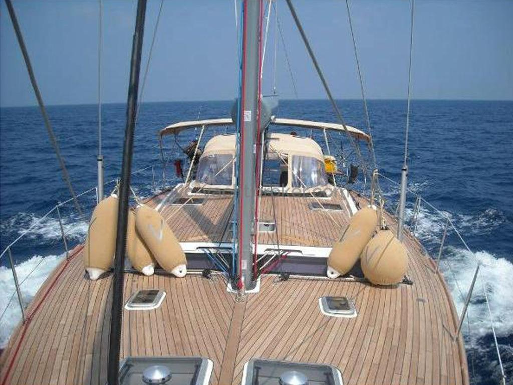 Dufour 485 Grand Large Custom - Pont teck