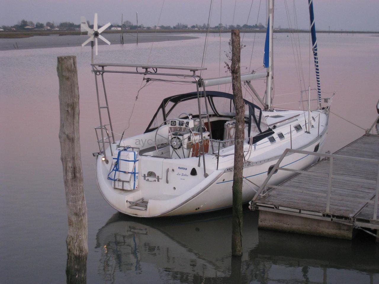 Oceanis 351 - Au ponton