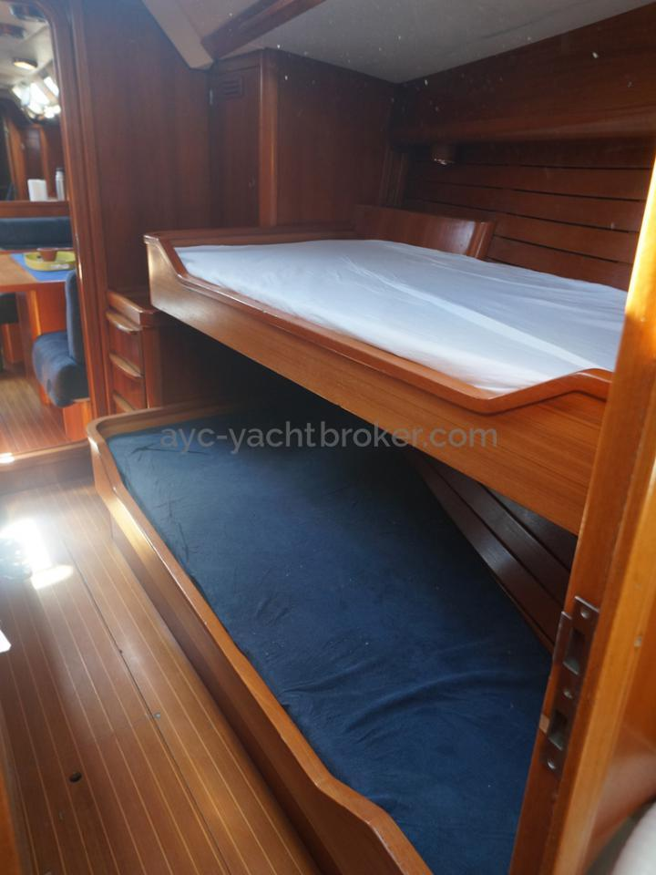 Grand Soleil 52 -Cabine avant bâbord