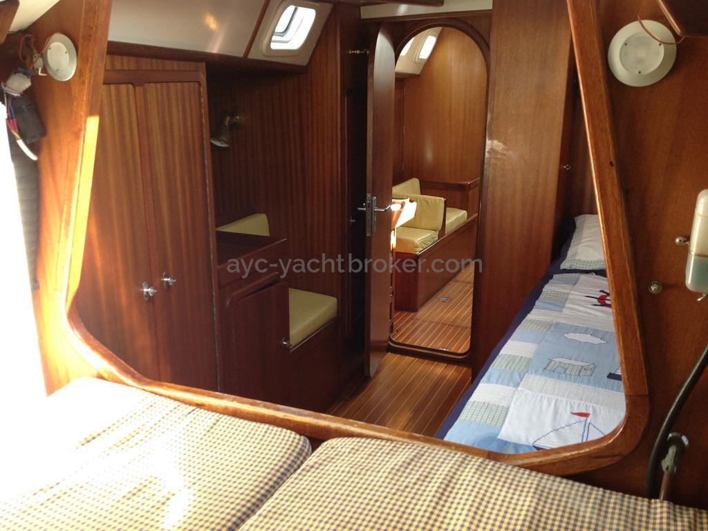 Mobile 477 - Depuis le lit clos de la cabine avant