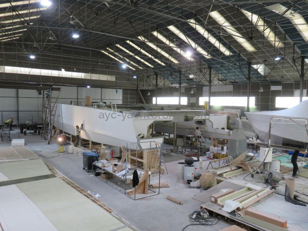 AYC - Day 1 85' en construction