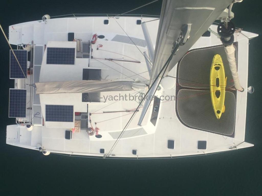 Flashcat 52s - AYC Yachtbroker - Depuis la tête de mât