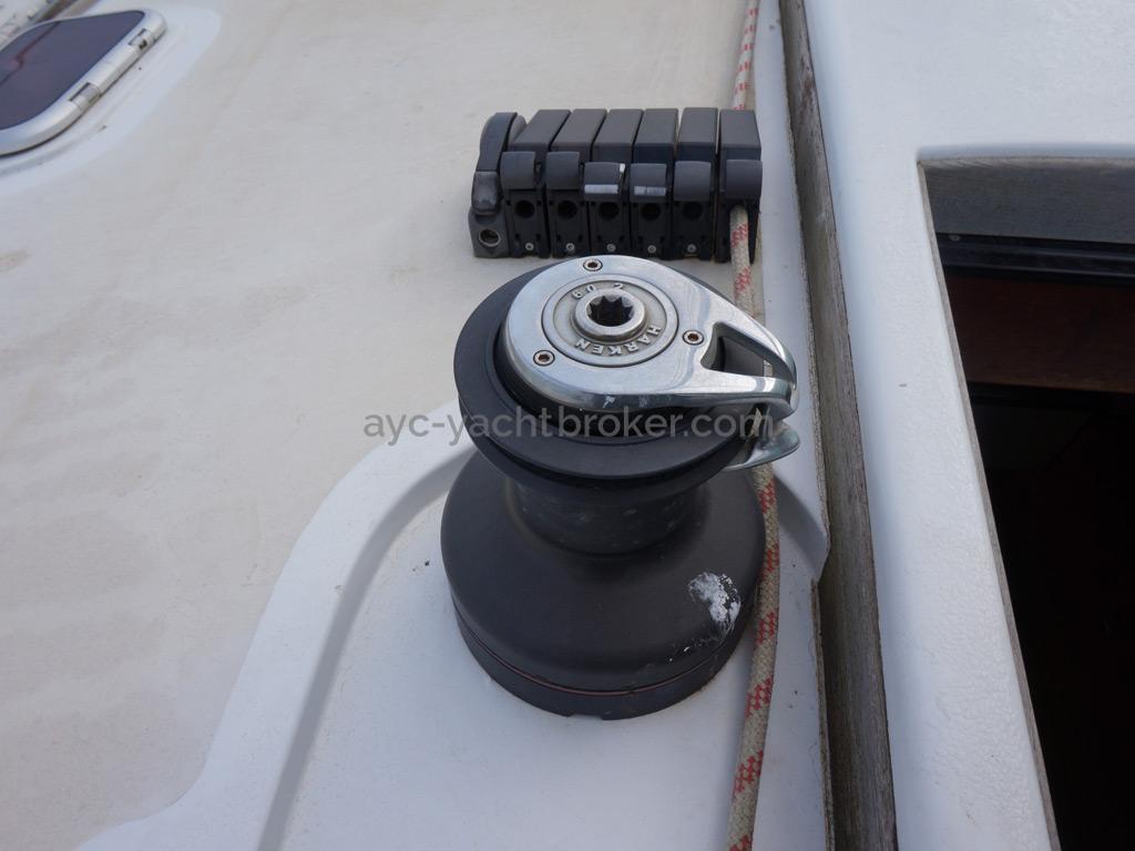 Sunreef 60S - Winch de roof bâbord