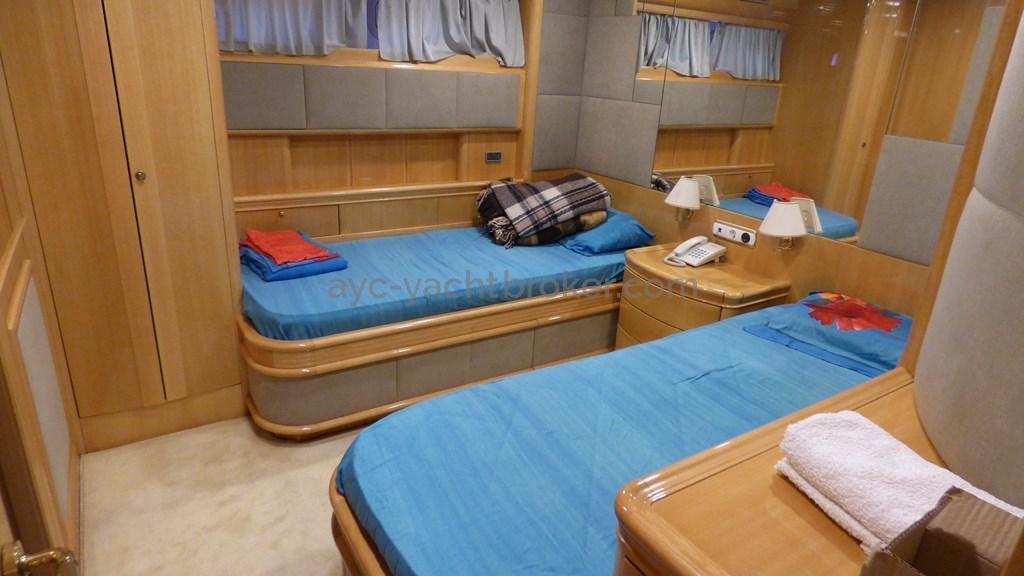 AYC - Liman Ketch - cabine