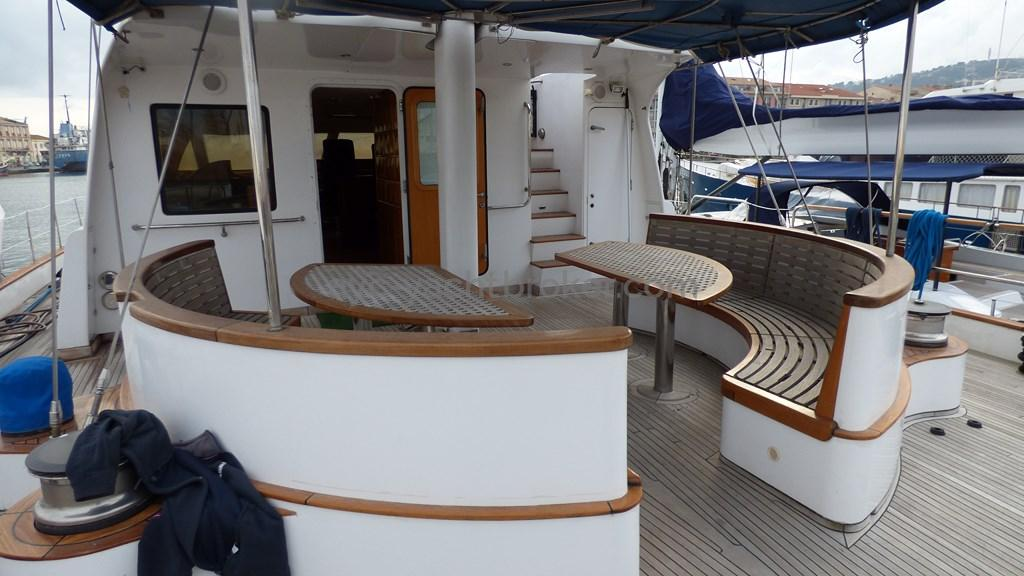 AYC - Liman Ketch - Salon de pont